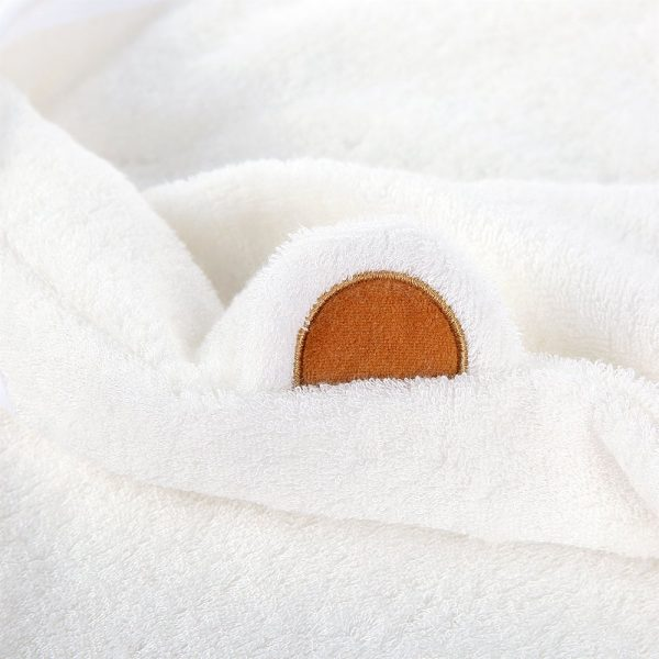 Baby towel white | My organic sheets